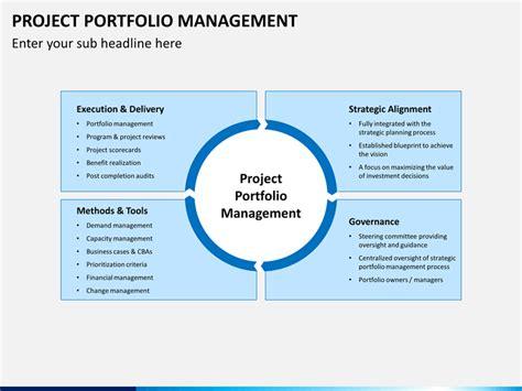project portfolio management powerpoint template