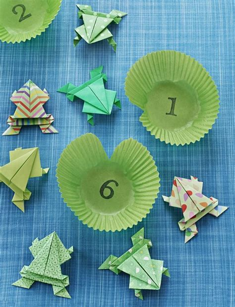 teaching origami 25 best ideas about origami frog on easy