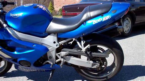 triumph tt600 for sale 2001 triumph tt600 for sale sold youtube