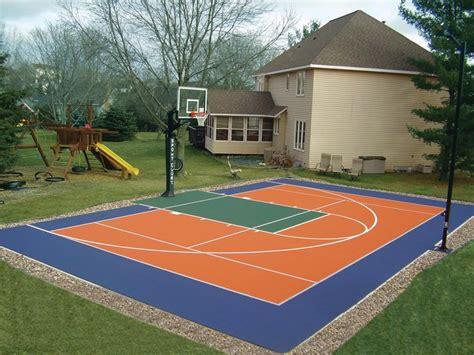 backyard sport courts backyard courts gallery sport court