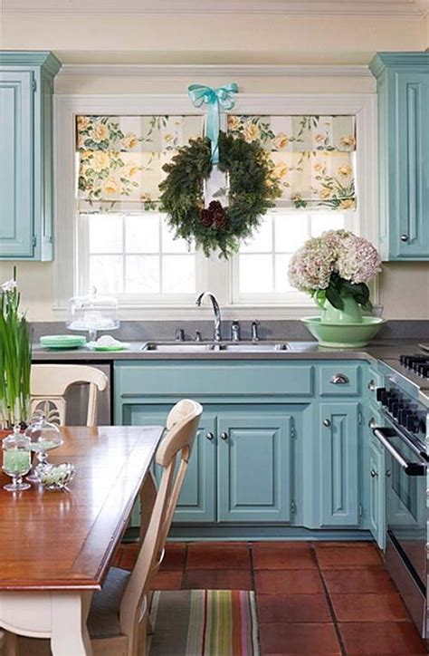 blue kitchen decorating ideas 80 cool kitchen cabinet paint color ideas