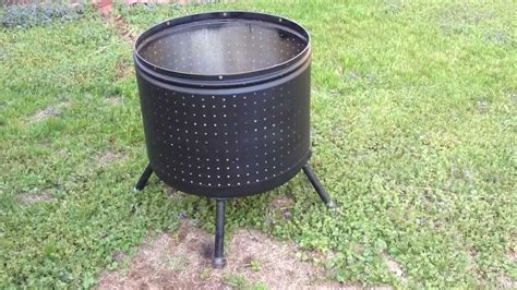 washing machine firepit metal what can i use as a bowl for a diy bowl pit