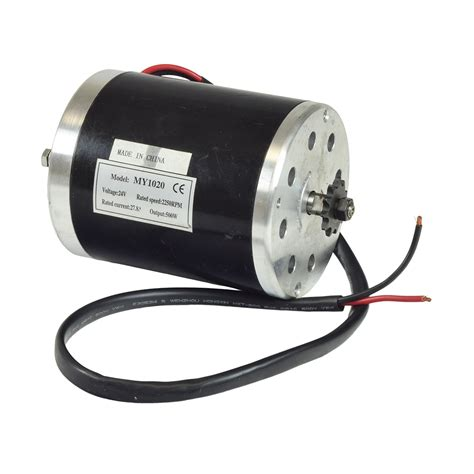 Volt Electric Motor by 24 Volt 500 Watt My1020 Electric Motor With 11 Tooth 8mm