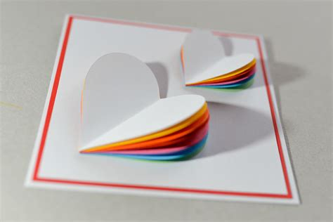 how to make a greeting card how to make s day card rainbow greeting