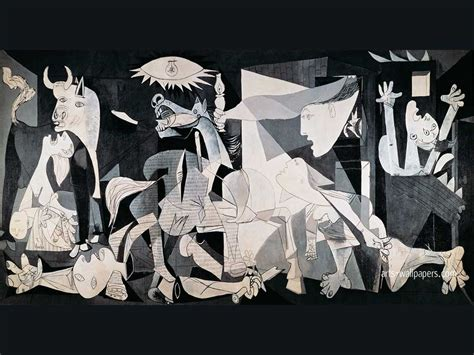 picasso paintings during civil war guernica guernica wallpaper guernica print