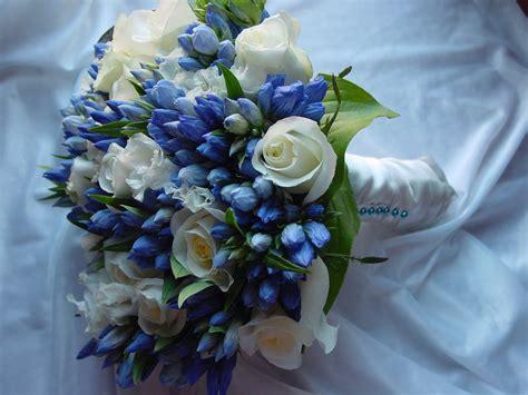 wedding bouquet wedding flowers blue wedding bouquets