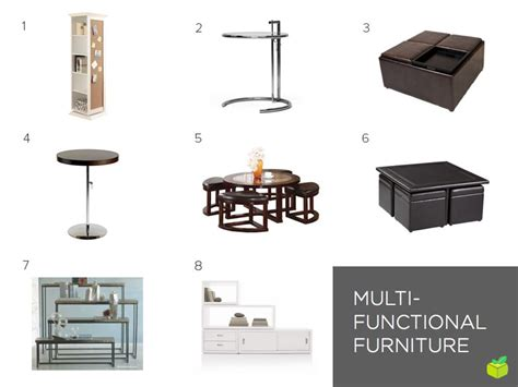 Multifunctional Furniture space saving furniture for your small apartment