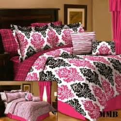 pink and white comforter set pink and black bedding decorate my house