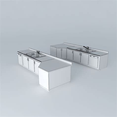 kitchen sink dishwasher kitchen sink with built in dishwasher lef 3d model max