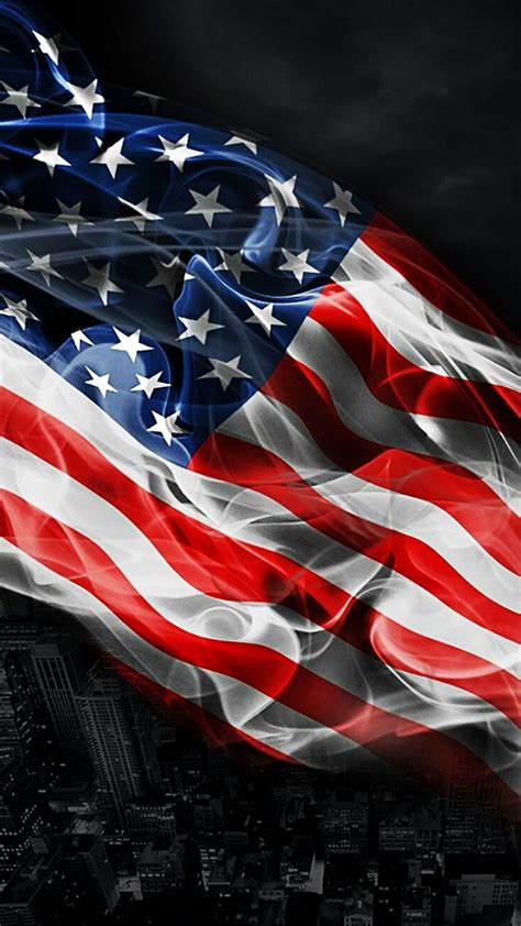 Car Wallpaper Ios 8 by Ios 8 American Flag Wallpaper 12754 Image Pictures Free