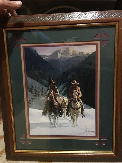 home interiors ebay home interior gifts cowboys in snow picture gary arztz ebay
