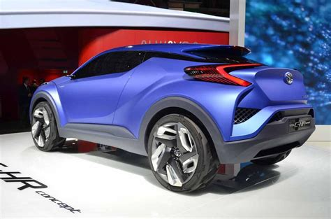 Toyota C Hr Concept by 2014 Toyota C Hr Concept Revealed The About