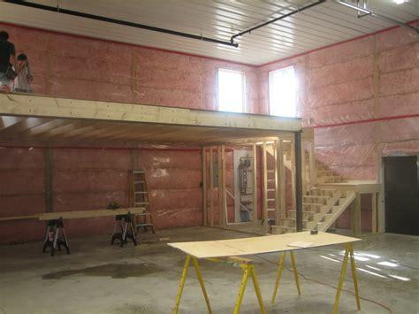 plans for building a garage build a mezzanine in garage studio design gallery