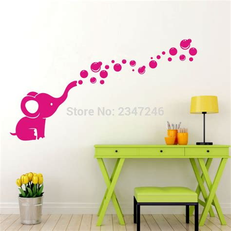 removable wall decals for baby nursery calf elephant decal removable nursery nursery