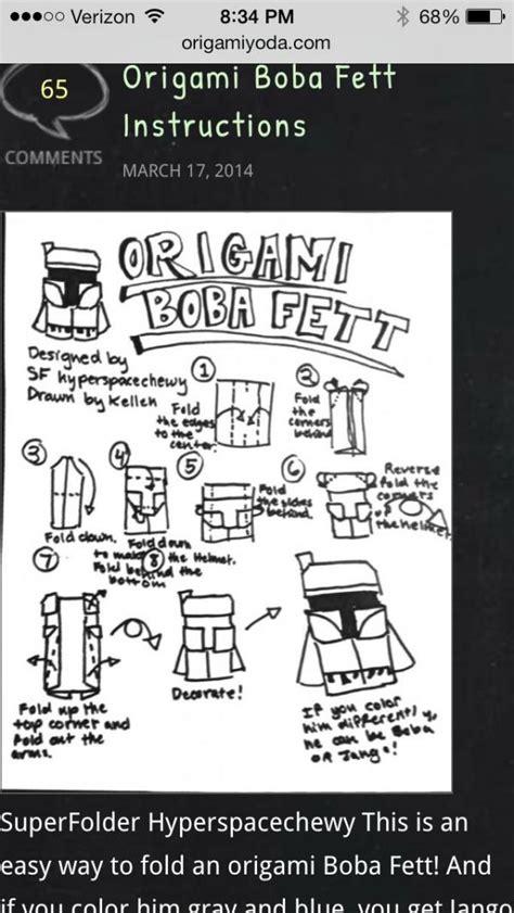 origami qui gon jinn boba search results origami yoda page 22