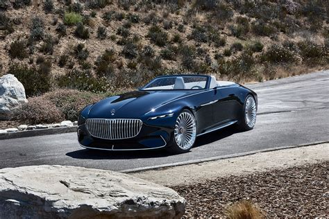 Mercedes Car by Vision Mercedes Maybach 6 Cabriolet News Photos Specs