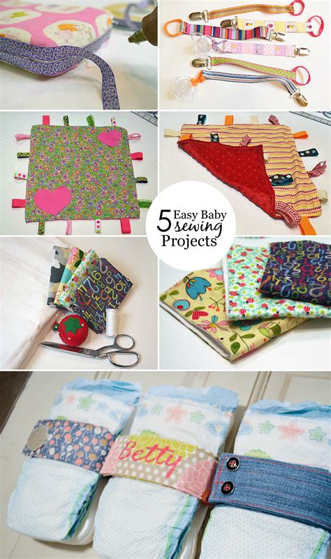 sewing crafts for easy baby sewing projects project nursery