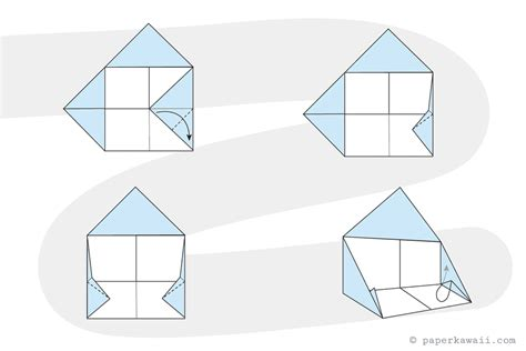 origami house how to make a simple origami house