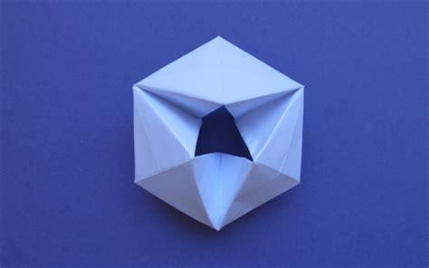 hexaflexagon origami how to make a paper flexagon
