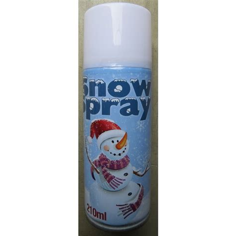 spray snow