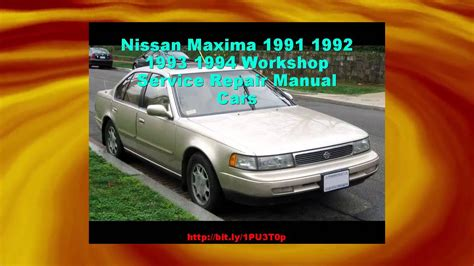 what is the best auto repair manual 1994 ford tempo free book repair manuals nissan maxima 1991 1992 1993 1994 workshop service repair