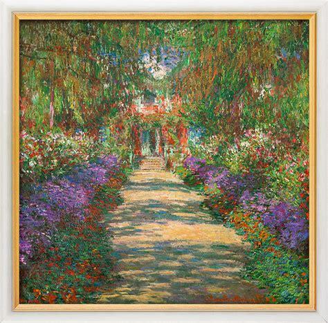 Der Garten Claude Monet In Giverny by Claude Monet Bild Quot Garten In Giverny Quot 1902 Gerahmt