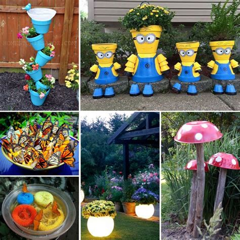 20 Best Crafts For The Garden One Project
