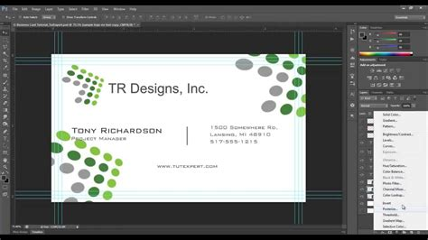 how to make a card in photoshop business card tutorial create your own photoshop