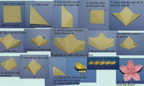 how to make a paper flower origami step by step modular an origami a day
