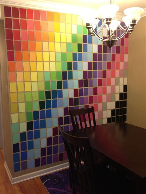 home depot paint paper wall made with paint sles from home depot