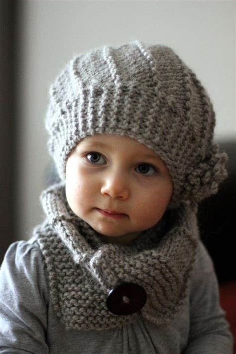 children s knitted hat patterns diy quot cool wool quot hat and cowl set pattern children
