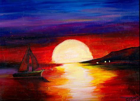 acrylic painting scenery acrylic scenery by kharolsodi on deviantart