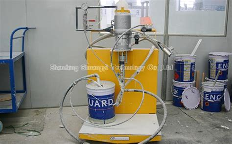 spray painting qualification gel coat spray painting machine