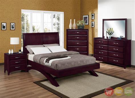 low profile bedroom furniture vera modern low profile bed contemporary bedroom set free