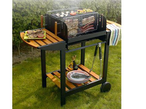 barbecue bois quot le vertical quot avec grille rectangle cuisson verticale 33006