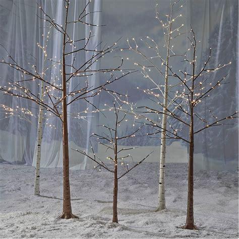 pre lit white tree uk decoration uk tree alternatives