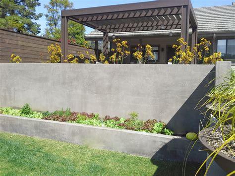 concrete garden walls 24 concrete retaining wall ideas for attractive garden