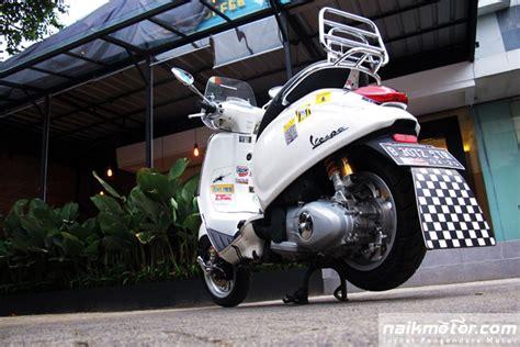 Modifikasi Vespa Tangerang by Vespa Sprint Ohlins Guntur 1 Naik Motor Jurnal