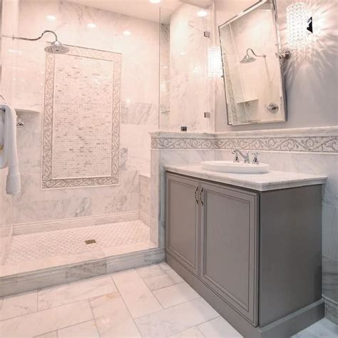 white marble bathroom ideas best 25 marble tile bathroom ideas on