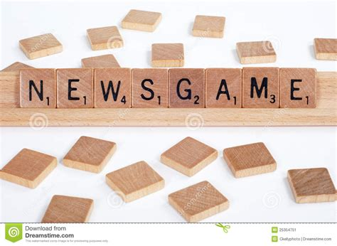 how do you spell scrabble scrabble tiles spell out newsgame stock image image