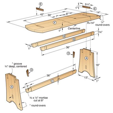woodworking blueprint maker simple wooden bench design plans woodworking projects