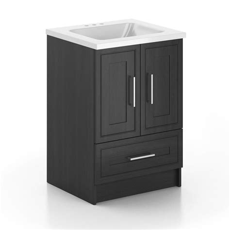 classic designs classic designs 24 inch vanity cabinet with top the home depot canada