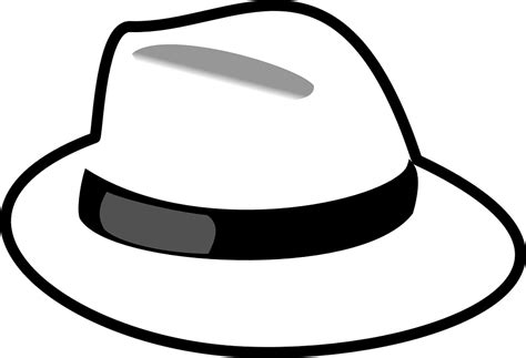 white hat vector gratis sombrero blanco la moda imagen gratis