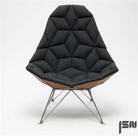 design chair jsn design assembles shaped tiles into chair