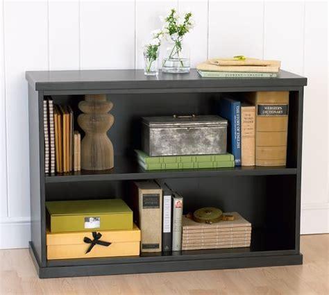 2 shelf bookshelves bedford 2 shelf bookcase antique white pottery barn