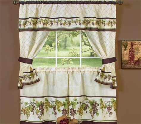 grape kitchen curtains wine curtains for kitchen curtains drapes