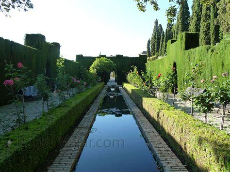 jardines del generalife granada 124 alhambra jardines del generalife portal