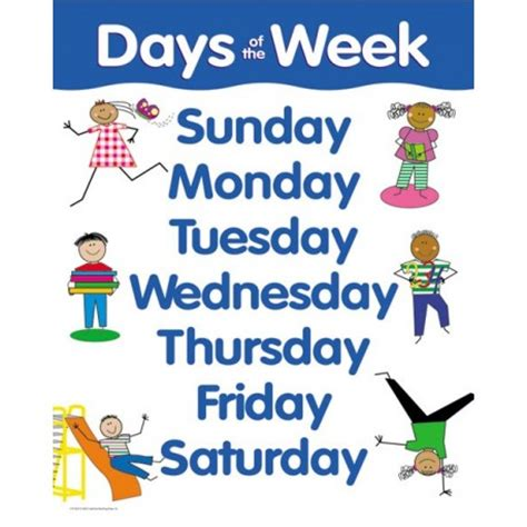 days of the week ctp5674 wooks