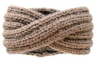 knitting pattern ear warmer headband chunky knit turban headband ear warmer knits for
