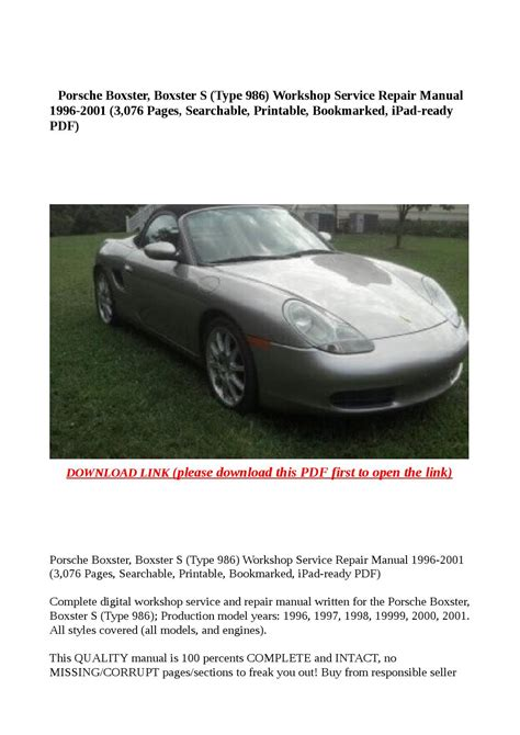 what is the best auto repair manual 2001 gmc sierra 2500 electronic throttle control service manual 2001 porsche boxster repair manual free download service manual 1999 porsche